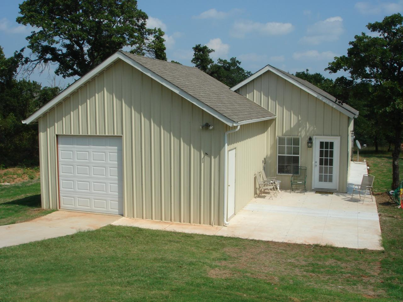 Metal building carports for Metal homes in oklahoma