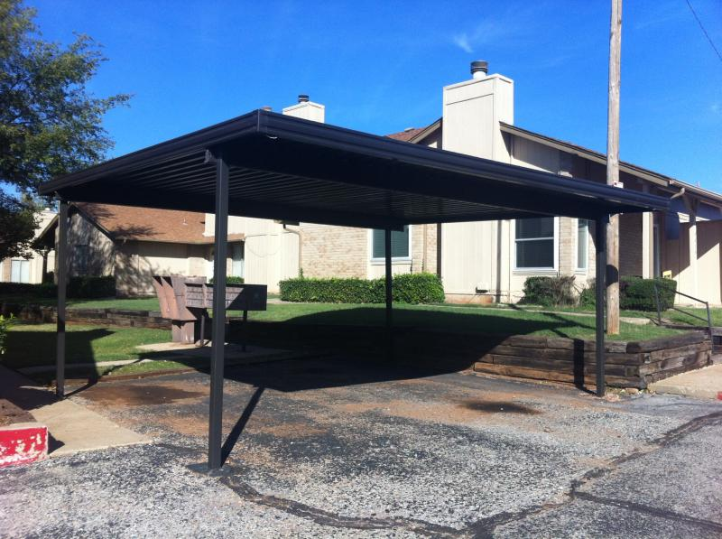 Commercial Apartments Carport Covered Parking