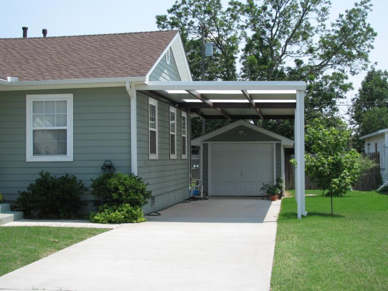Carport with Skylights Midwest City Oklahoma MWC